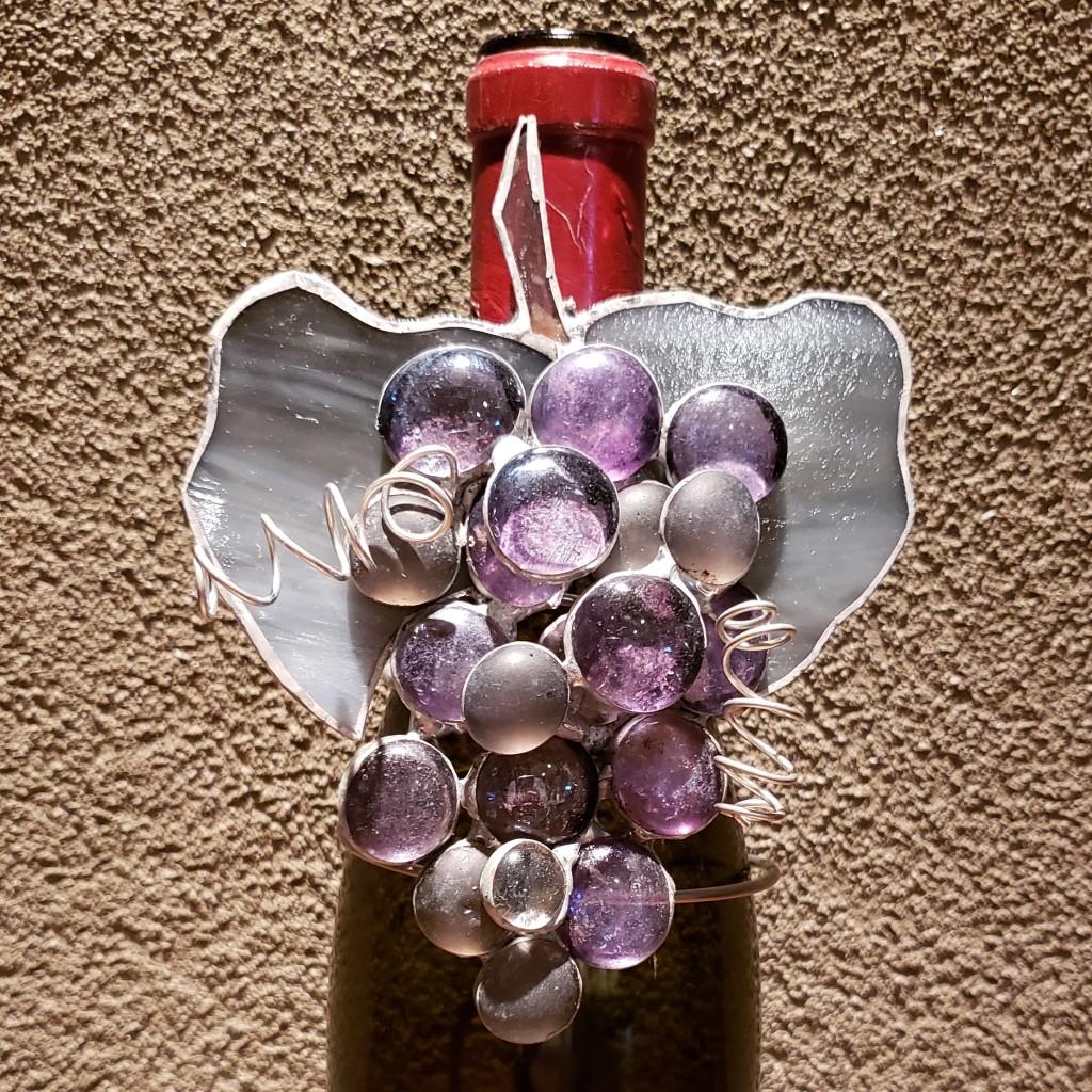 Purple Grape Wine Charm by It Ain't Plain By Jane.